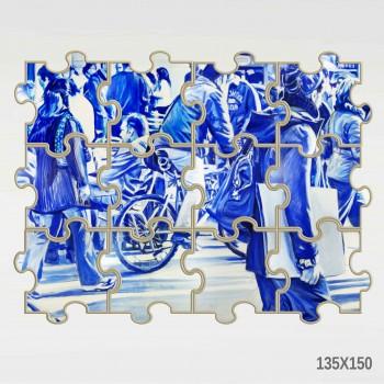 Luis Lonjedo - Blue - 2020